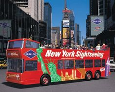 That's what sis and I did the first time we went, lalalaloved it!!!!  New York Sightseeing bus tours - best way to see the city!
