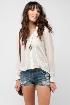 I have always wanted to be able to wear cut-off denim shorts. Someday.