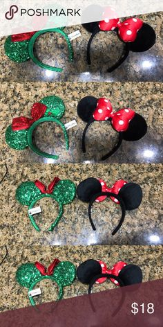 Minnie Mouse Ears Classic Minnie Mouse ears. I removed the tag. Worn only a few times. 🚫No Trades ✅Use offer button for offers please Disney Accessories Hair Accessories