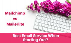 Best email marketing service when starting out - Mailchimp vs MailerLite. #getitdonemum #smallbusiness #mumlife #businesstips
