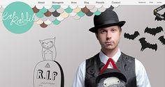 brand new & inspirational Website Designs  11