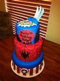 super hero squad cake  wolverine spiderman captain america
