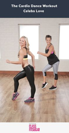 The sexy dance cardio workout Chrissy Teigen and Victoria's Secret models use to stay toned. Celebs love this 25 minute cardio workout.