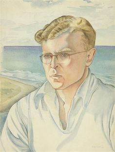 Douglas Lilburn, 1945, Rita Angus