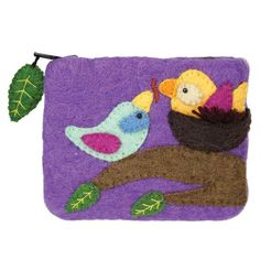 Felt Coin Purse - Cozy Nest