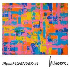 SWEETY on canvas by mpunktwenger.at (Acryl 80 x 100) ORIGINAL ART PAINTING Original Art, Abstract, Canvas, Artwork, Painting, Tela, Work Of Art, Summary, Paintings