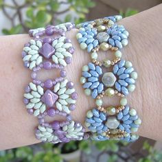 Fanfare Bracelet | Bead-Patterns.com