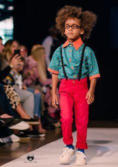 African Print Boys Summer Shirt  100% Cotton ShweShwe On the runway at MiniMode London