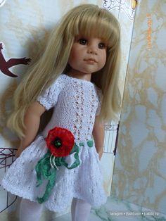 """""""Собери мне букет полевых""""... или одежда для Gotz своими руками / Одежда и обувь для кукол - своими руками и не только / Бэйбики. Куклы фото. Одежда для кукол"""