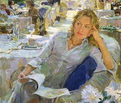 Maria Jesús Galdos @mjesusgz  Painting by Yuri Krotov - #pintura #art #artwit #painting sunday Retweeted via Twitter
