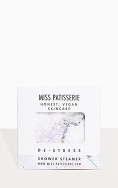 The Miss Patisserie De-Stress Shower Steamer. Head online and shop this seasons range of beauty at PrettyLittleThing. Juniper Berry Oil, Shower Steamers, Sodium Bicarbonate, Christmas Shopping, Essential Oils, Stress, Place Card Holders, Cards Against Humanity, Skin Care