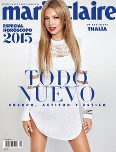 Thalía - Marie Claire Magazine Cover [Mexico] (January 2015)