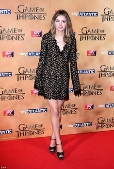 TV star! Hannah Murray has gone from British hit Skins to three series and counting of Gam...