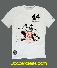 Cruyff football t shirt Socceratees.com