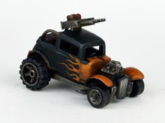 davetaylorminiatures: Vroom! Vroom! - More pursuit vehicles complete : )
