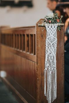 Macrame Aisle Decor For Wedding / Image By Jo Greenfield Photographer Macrame ideas for your boho, festival or vintage wedding wedding aisle Macrame Wedding Inspiration Bohemian Wedding Inspiration, Wedding Ceremony Decorations, Wedding Backdrops, Decor Wedding, Wedding Ideas, Boho Diy, Bohemian Decor, Macrame Patterns, Wedding Images