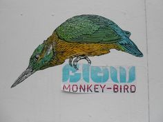 Street art Bordeaux, Monkey Bird crew