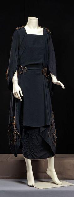 Afternoon dress by GOERGETTE et cie, 1920s