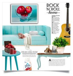 """""""Color Challenge:  Mint living room"""" by dolly-valkyrie ❤ liked on Polyvore featuring interior, interiors, interior design, home, home decor, interior decorating, Home Decorators Collection, NOVICA, Tiffany & Co. and Nearly Natural"""