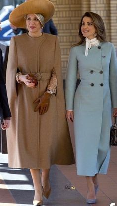 Beautiful Queens. Rania of Jordan and Maxima of the Netherlands
