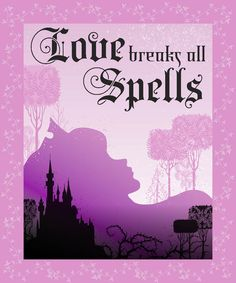 Disney Maleficent Love Breaks Spells Throw Finish Throw, , hi-res