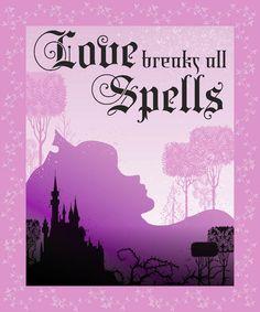 Disney Maleficent Love Breaks Spells Throw Finish Throw, , hi-res