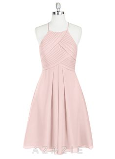 Shop Azazie Bridesmaid Dress - Adriana in Chiffon. Find the perfect made-to-order bridesmaid dresses for your bridal party in your favorite color, style and fabric at Azazie.