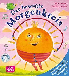 Der bewegte Morgenkreis - Platztauschspiele, rhythmische Spiele, Klanggesten, Lieder und Verse von Elke Gulden http://www.amazon.de/dp/3769820924/ref=cm_sw_r_pi_dp_iMmAvb0RAMJZE
