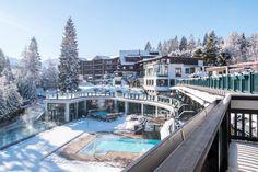 ★★★★★ Astoria Resort, Seefeld in Tirol, Austria Alpine Hotel, Infinity Pool, Resort Villa, Felder, Beautiful Hotels, Relax, Trip Advisor, Around The Worlds, Mansions
