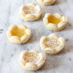 Lemon Shortbread Tartlets   Baked by Rachel