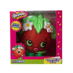 Lampe LED Shopkins Strawberry Kiss