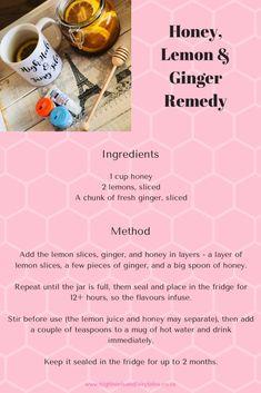 Natural cold and flu remedy recipe - http://highheelsandfairytales.co.za/letibalm-repair-balms-flu-remedy-recipe/ #recipe #lemonhoneyginger #fluremedy