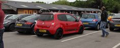 Show and Shine. The Twingo looking very smart ! Cars & Coffee. Manley Mere.