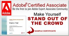 Adobe Certified Certificate