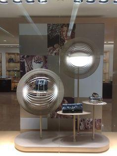 Ermenegildo Zegna & Bulgari windows, Singapore visual merchandising