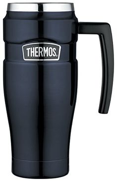 From 18.03:Thermos Stainless King Travel Mug 470 Ml - Midnight Blue