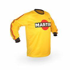 Vintage Style Martini Motocross Jersey MX Enduro Ahrma Motorcycle | eBay