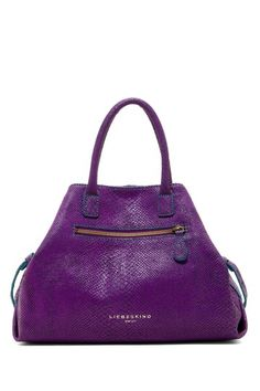 Liebeskind Berlin LA Snake Print Leather Tote by Handbags For Every Occasion on @HauteLook