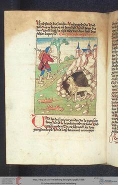 Cod. Pal. germ. 85: Antonius von Pforr: Buch der Beispiele (Schwaben, um 1480/1490), Fol 180v