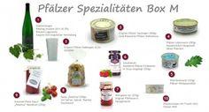 Pfälzer Spezialitäten Box M - Pfalz Korb  - Pfälzer Geschenkbox