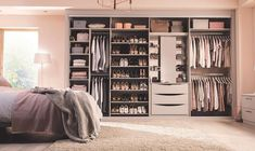 Clever storage tailored to all your needs to keep everything beautifully organised. Everything can have a home in your Sharps Fitted Wardrobe. Fitted Wardrobe Interiors, Wardrobe Interior Design, Custom Closet Design, Master Bedroom Interior, Closet Designs, Bedroom Decor, Master Room, Bedroom Furniture, Bedroom Ideas