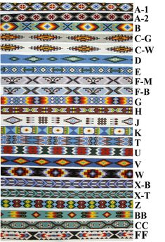 We have lots of new beaded hatbands available!