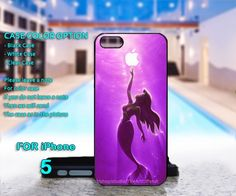 The #Little #Mermaid #Aplle #Ariel - For #IPhone 5 Black #Case Cover