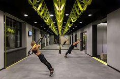 Soesthetic Group creates high-impact gym in Kiev: