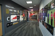 best walls and rooms at ESPN! this is amazing