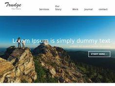 Готовый HTML шаблон для блога о путешествиях, адаптивный макет вёрстки Bootstrap 3, комплект нужных страниц с элементами дизайна.