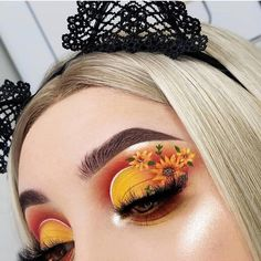 Gorgeous Makeup: Tips and Tricks With Eye Makeup and Eyeshadow – Makeup Design Ideas Makeup Eye Looks, Eye Makeup Art, Eye Makeup Tips, Cute Makeup, Makeup Goals, Gorgeous Makeup, Pretty Makeup, Eyeshadow Makeup, Makeup Ideas
