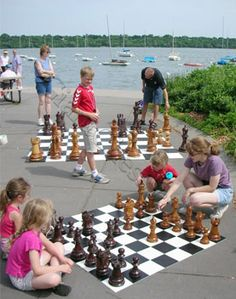 Play chess this summer with your kids