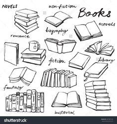 Mis libros son mi entretenimiento.