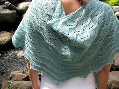 River Maiden - ILGA LEJA - Classic Knitting Patterns for the Handknitter